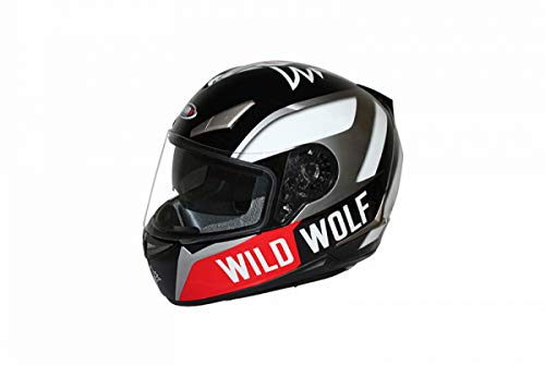 Casco integral Shiro SH-715 Wild Wolf negro XL