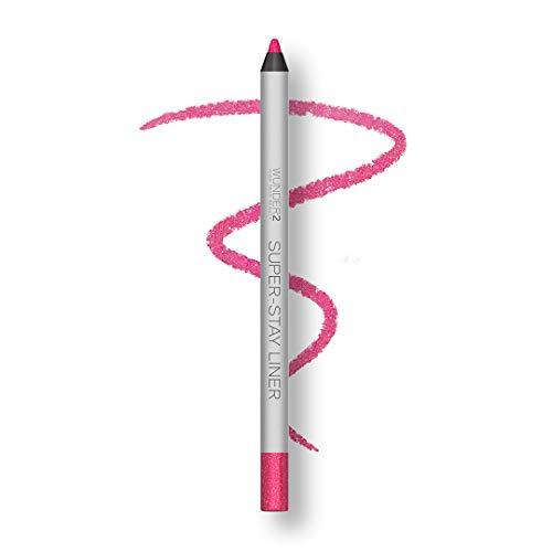 Wunder2 Super-Stay Eyeliner Kajal Lang Anhaltend Wasserfest,  Glitter Pink