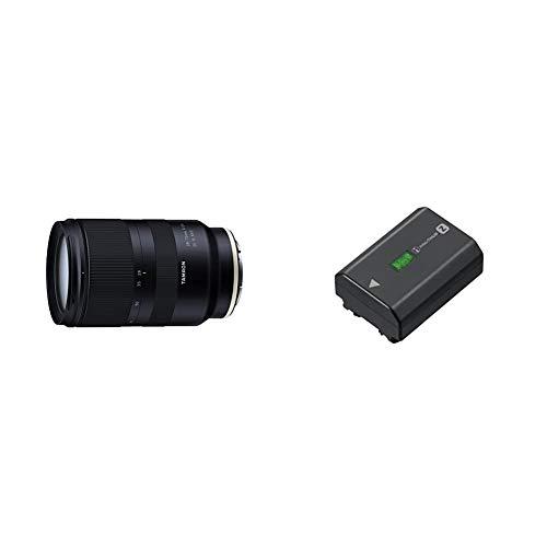 Tamron 28-75 mm F/2.8 Di III RXD - für Sony E-Mount & Sony NP-FZ100 Akku (InfoLITHIUM-Akku Z-Serie, 7,2V/16,4Wh (2280 mAh)) schwarz
