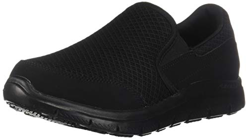 Skechers for Work Women's Gozard Walking Shoe, Black, 8 M US