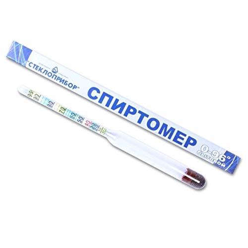 rukauf. Alkoholmeter Refraktometer Aräometer Spirtometer 0-96 Vol% ohne Thermometer