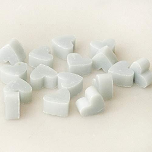 Mini coeur mini au cœur de savon au lait de brebis Florex 50 pièces DAY LOVE - BLEU CLAIR savon cadeau de faveur
