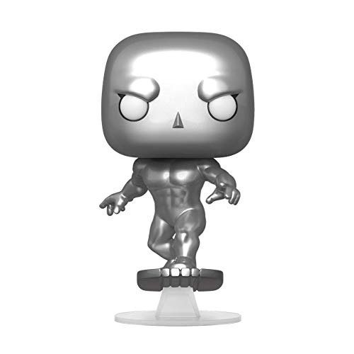 Funko- Pop Marvel: Fantastic Four-Silver Surfer Collectible Toy, Multicolor (44992)