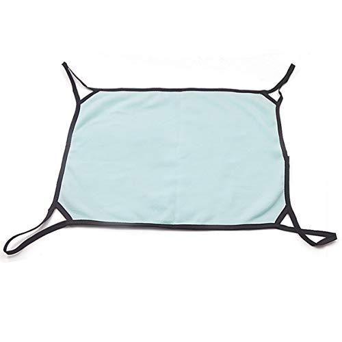 Hamaca de gato de doble cara de color sólido para cuatro estaciones con funda extraíble de forro polar lavable a máquina