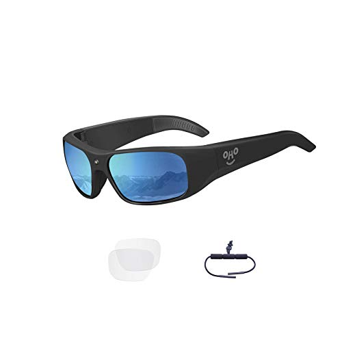 Sport Sunglasses Camera LMGL HD 1080P Mini Video Glasses Camera with 120/° Wide View Angle UV Protection Polarized Lens for Running Climbing Driving Outdoor