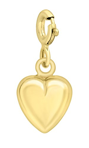 Carissima Gold 9ct Yellow Gold Heart Charm