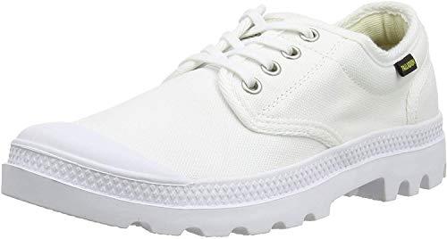 Palladium Unisex-Erwachsene Pampa Ox Orig U Sneaker, Weiß (White/white 924), 46 EU