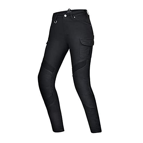 SHIMA Giro Lady Pantaloni da Moto, Nero, 24 N Donna