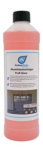 KaiserRein Aluminium-Reiniger Profi Glanz Industrie ist ein starker Grundreiniger für Alu Flächen Industriereiniger Werkstattreiniger Fahrzeugreiniger