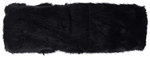 Pieces Pcfur Headband Bandeau, Noir (Black AOP: Solid), Taille Unique Femme