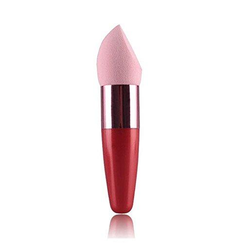 Make Up Pinsel FORH Cute Lollipop Pinsel Kosmetische Concealer Foundation Schwamm Pinsel Super weich flüssige Brush Gesicht Blush Beauty Werkzeug (Rosa)