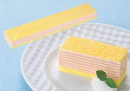 ミルクレープ いちご 430g (フリーカットケーキ) (nh463650)【スイーツ】