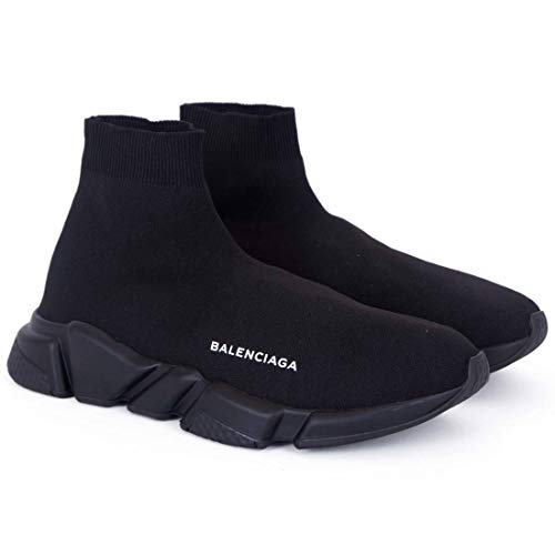 Balenciaga Speed Trainer Triple Black Imported Sneakers (45 Euro)
