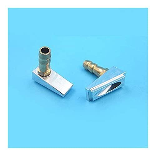 Buena estabilidad Metal online de entrada de la boquilla de la boquilla de la boquilla de la boquilla de la cáscara del fondo M6 de la boca del agua For For For Mini del grifo del pezón para el sistem