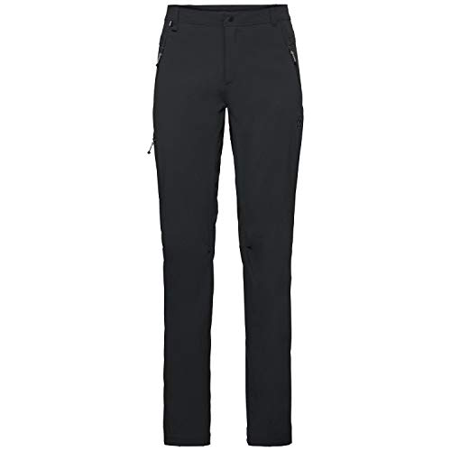 Odlo Pants Long Length WEDGEMOUNT Trousers Homme, Black, FR : M (Taille Fabricant : 48)