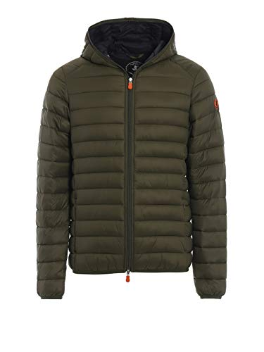 SAVE THE DUCK Giubbotto Uomo MOD. D3065 Olive S