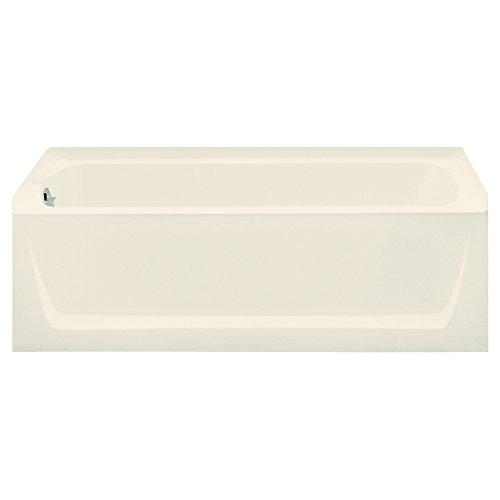 STERLING 71121112-96 Ensemble Bathtub, 60-Inch x 32-Inch x 20-Inch, Left-Hand, Biscuit -  KOHLER
