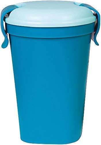 CURVER Becher Lunch & Go Größe L in dunkelblau/hellblau, Kunststoff, 10.7 x 12 x 15.5 cm
