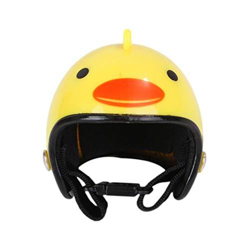Balacoo Casco para Mascotas Casco de Pollo Sombrero para Mascotas Casco de Juguete Disfraces de Pollo Accesorios para Pollo Color Aleatorio