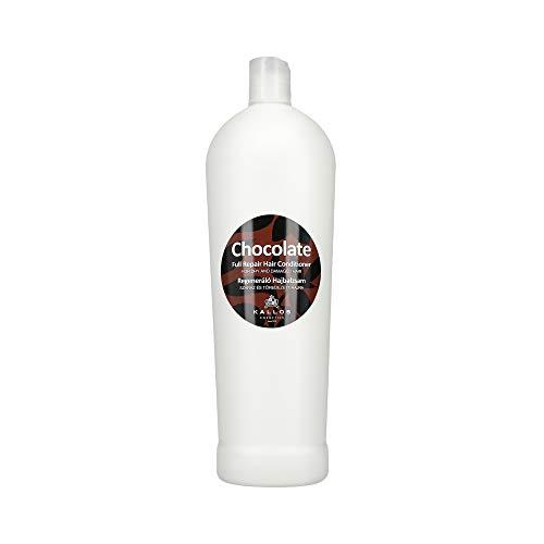 Kallos Acondicionador de cabello reparador completo de chocolate seco 1000 ml