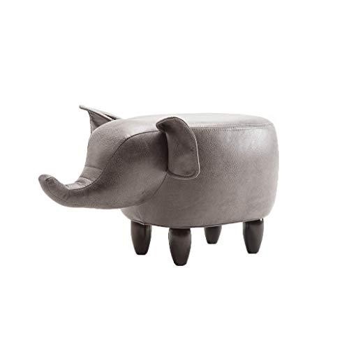 FTFTO Equipo Diario Taburetes para los pies Taburetes para los pies Taburetes para los pies Taburetes Modernos para Elefantes y Cerdos Adecuado para niños/jóvenes/Decoraciones para el hogar (Tamaño: