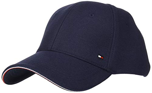 Tommy Hilfiger Herren Elevated Corporate Cap Hut, Wüstenhimmel, Einheitsgröße