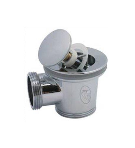 Sky-Click ST-Click Pop Up Afvoerventiel, voor badkuip of spoelbak, met overloop, kunststof, 1 1/2 inch