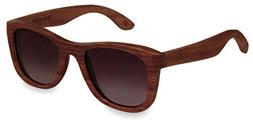 retrostiel Holz Sonnenbrille Overseer Nut