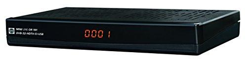 WISI OR 181 IR HDTV Satreceiver Irdeto HD PVR ready schwarz geeignet für ORF