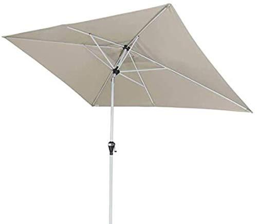 GCX Schatten 2 * 2 m Sonnenschirm Platz Regenschirm-gerades Regenschirm Sonnenschirm Balkon Hof Sonnenschirm im Freien Regenschirm Säule Regenschirm tragbar