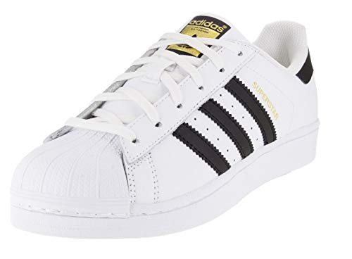 adidas Originals womens Superstar Sneaker, White/Black/White, 7.5 US