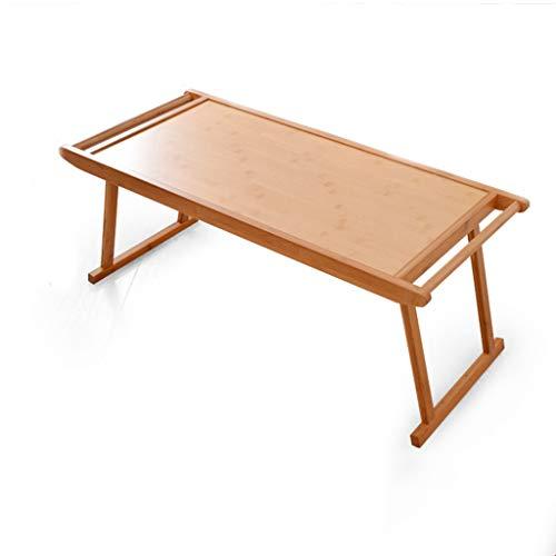QARYYQ Antieke tafel, inklapbaar, creatief, eenvoudig, salontafel, kinderbed, kantoor, van hout, kleine tafel, 76 x 43 x 29 cm, inklapbare tafel