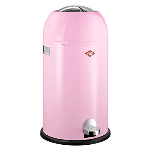 Preisvergleich Produktbild Wesco 184 631 Kickmaster Abfallsammler 33 Liter pink