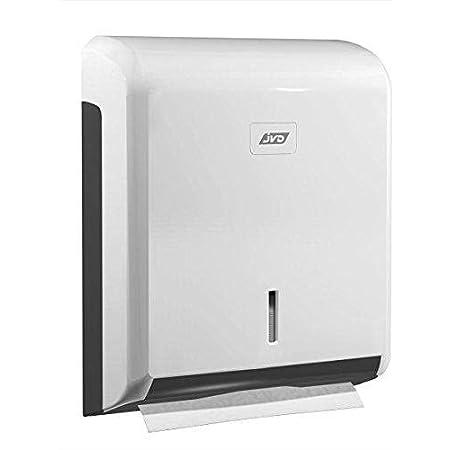 JVD - Distributeur essuie-mains pliage Z - ABS Blanc