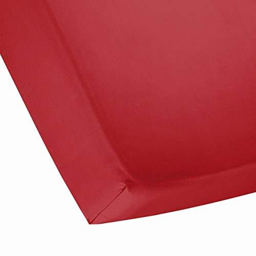 Cinderella A85596 hoeslaken, rood, 180 x 25 x 200 cm