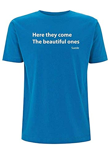 ATAT-1 Suede Beautiful Ones Song Lyrics T Shirt Coming Up Album Brett Anderson