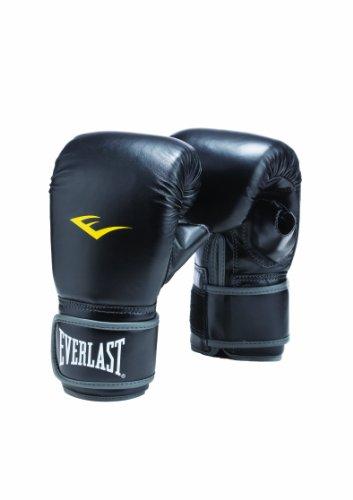 Everlast Hook Loop Heavy Boxhandschuhe zum Trainieren, Schwarz Large/X-Large schwarz - schwarz