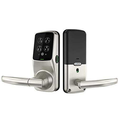 Lockly Fingerprint Bluetooth Keyless Entry Door...
