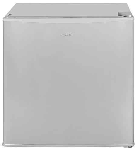 Exquisit Mini-Kühlschrank KB 05-15 A++ grau | Getränkekühlschrank | Kühlbox | 45 Liter | 50 cm hoch | Grau
