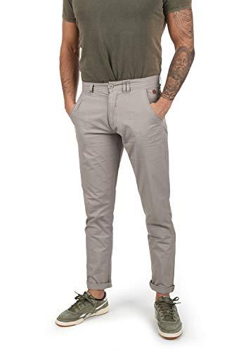 BLEND Tromp - pantaloni chino da uomo , taglia:W36/32;colore:Aluminium (70107)