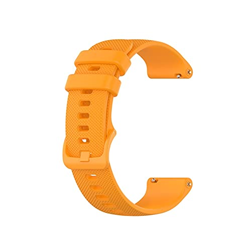 LXF JIAJU Smart Watch Band Strap Muñequera para Huawei Watch GT 2 42mm 46mm 20 / 22mm Correa para Honor Watch Magic para Polar Vantage M Pulsera (Color : Orange, Size : For GT 2 46mm)