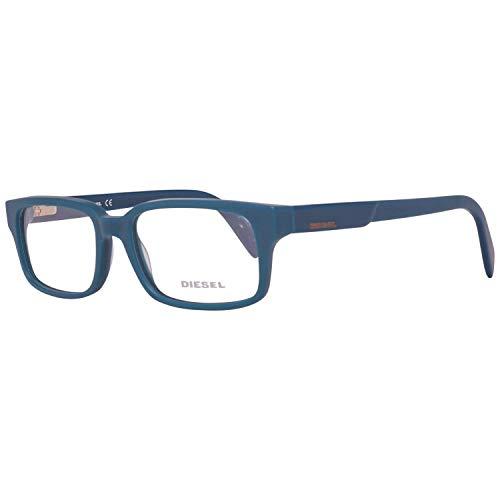 Diesel Monturas de gafas, Azul (Blue), 54.0 para Hombre