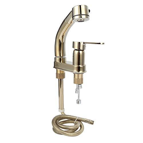 zcyg Grifo Grifo Mezclador De Agua, Grifo Extraíble para Baño G1 / 2, Grifo De Agua Fría Y Caliente, Grifo Mezclador De Agua con Rotación De 360 Grados