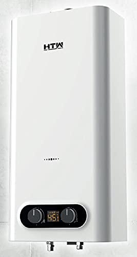 Calentador de Agua a Gas Butano | Calentador Atmosférico/Tiro Natural | Encendido Automático | Bajas Emisiones de NOx | Calificación Energética A