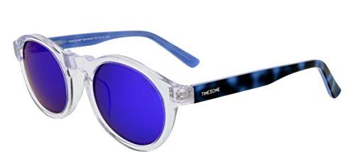 Timezone Damen Sonnenbrille Retro Runder Rahmen Polarisiert UV400 Schutz SAPHY-04