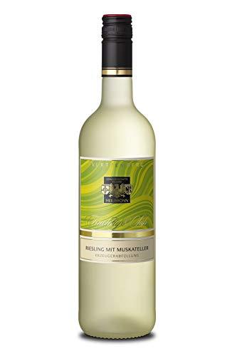 Württemberger Wein Heilbronner Riesling mit Muskateller QW Fein und Fruchtig (1 x 0.75 l)