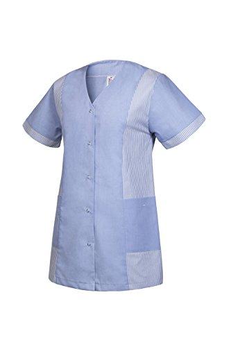 Damenkasack Clinotest, V-Ausschnitt, durchgeknöpft, MG TB101 (36, Light Blue)