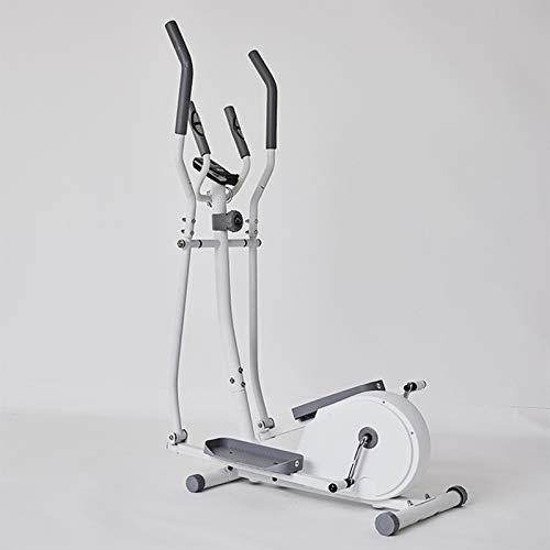 Eortzzpc Bicicleta Elíptica, Funcionamiento Silencioso, Paso a Paso Silencioso para El Hogar, El Mejor Equipo De Entrenamiento para Ejercicio Integral (Color : White)