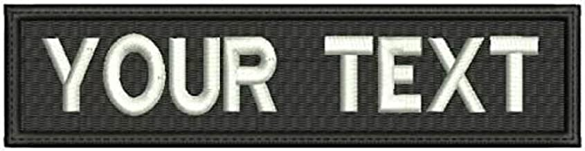 military name badges velcro