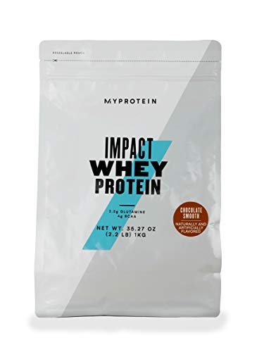 Myprotein Impact Whey Protein, 1 kg, Chocolate Smooth